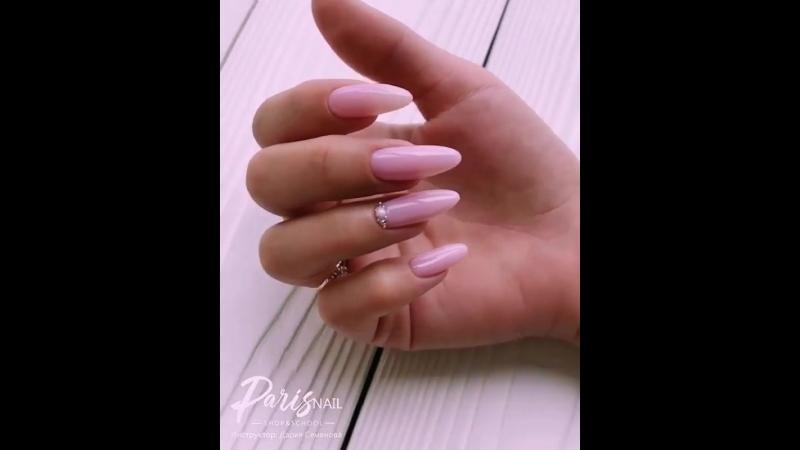 ✨ Светло-розовый маникюр ✨ 2018 Дизайн ногтей ✨