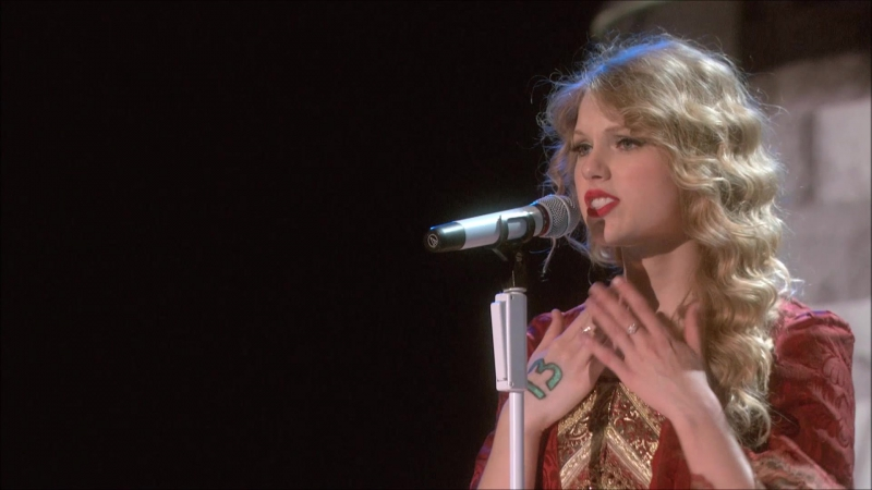 Taylor Swift - Love Story (Live on Fearless Tour 2010)