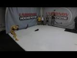 Тренировка под чутким руководством Игоря Ларионова