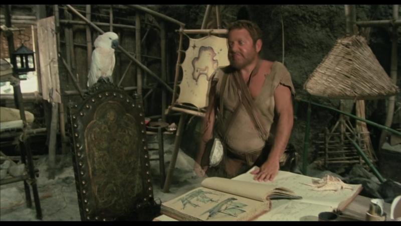 Смешные моменты с попугаем Какаду в фильме Сеньор Робинзон!