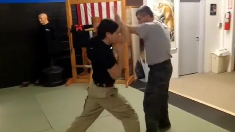 KALI STEALS Wing Chun WOODEN DUMMY for Drills