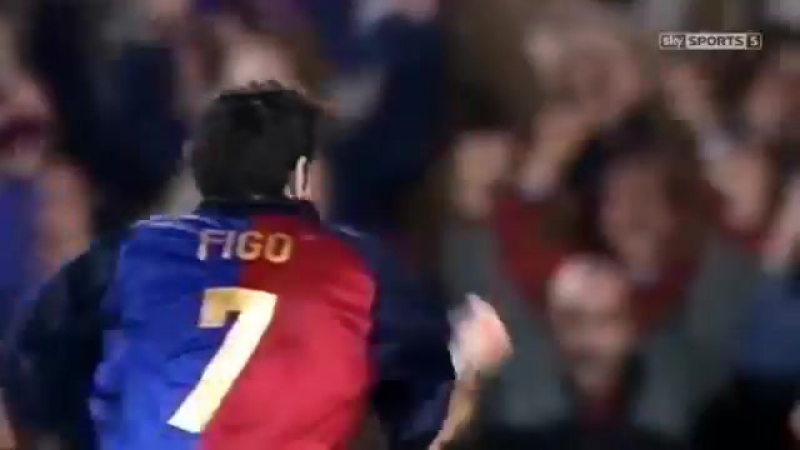 Footballs Greatest / Best Players in the World / Luis Figo