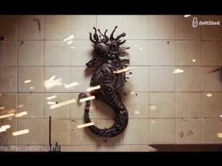 Скульптуры животных из металла