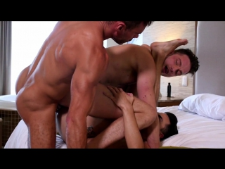 LUCKASENTERTAIMENT.COM - Aaden Stark Takes Raw Dick From Manuel Skye And Damon Heart (Bareback)