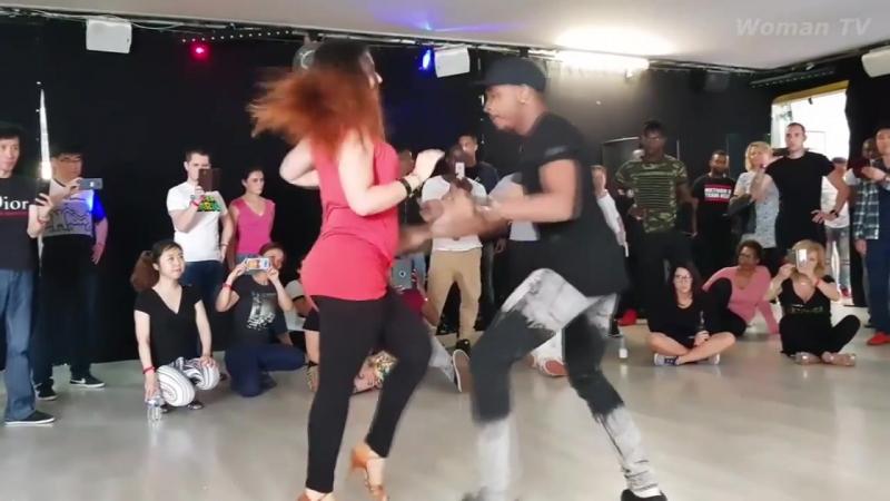 Hot Kizomba Harmony in dance