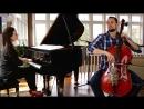 Инструментальный кавер песни Someone Like You Cover - Adele (Cello_Piano) - Brooklyn Duo