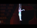 Воздушная гимнастка на ремнях-Никитина Каролина