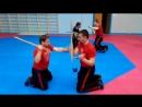 Стальной кулак KOMBATAN SFS - Solo baston butt strikes freestyle