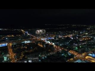 Новогодний фейерверк 2018 в Перми