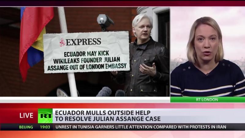 Causa Assange- Ecuador will endlich eine Lösung und Ende des Botschaftsasyls
