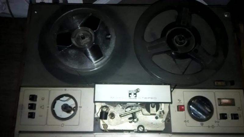 катушечный магнитофон Маяк 203