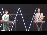 Oh Wonder - Shark  Outside Lands 2016, Live in San Francisco