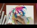 Drawing Shuvi Dola シュヴィ・ドーラ from No Game No Life Zero Movie ノーゲーム・ノーライフ ゼロ