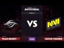 Team Secret против Natus Vincere, Вторая карта, LAN-Финал SL i-League Invitational S3, Третий день