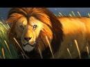 Digital Painting - Photoshop - Sunrise Lion