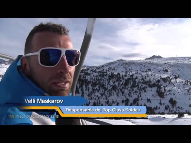 MONTAÑAS DE NIEVE: Estación de esquí de Grandvalira