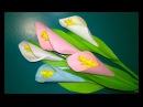 🎁 Как Сделать Подарок Маме Учителю своими руками День рождения 8 Марта.МК Цветок Из Бумаги Поделки