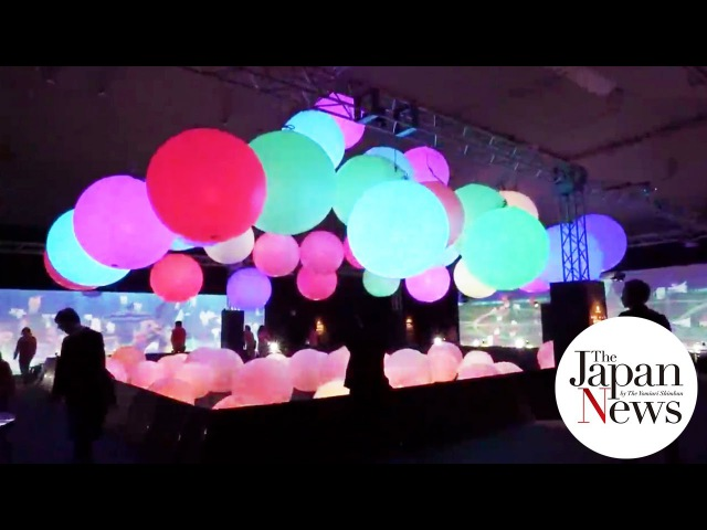 Digital arts exhibition by teamLab IsLands - The Japan News