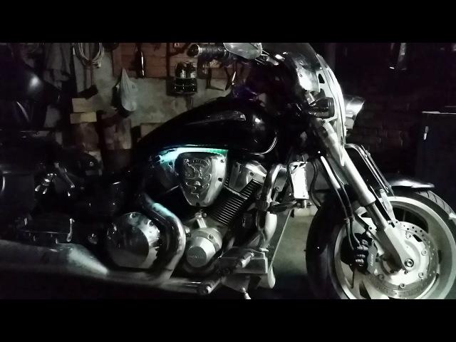 Honda VTX1800 | Dynamic Lighting Engine | Динамическая Подсветка Двигателя | №_4