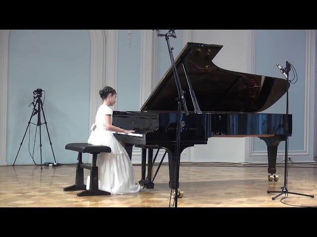 01 10 2017 Alexandra Dovgan' at Concert of the CMS students Rachmaninov Concert Hall