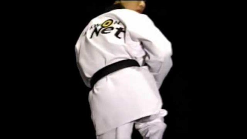 Тхэквондо удары ногами техника ног серия 1 части 3 5