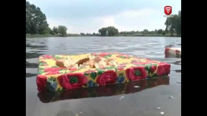 Телеканал ВІТА новини 2017-08-18 Тяжилівське озеро: благоуострій є - птахів немає
