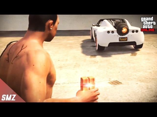 점착폭탄을 로켓볼틱 부스터에 던지면 날아갈까?! 사모장의 GTA5 꿀잼 컨텐츠 (GTA 5 Funny Contents) [사모장]