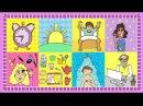 Deutsch lernen Mein Tag Tagesablauf German for children and beginners daily routine