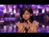 Celine Tam- Adorable 9-Year-Old Earns Golden Buzzer From Laverne Cox - Americas Got Talent 2017