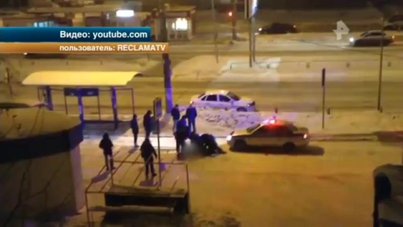 В Ижевске патрульные задержали на улице голого и очень агрессивного мужчину