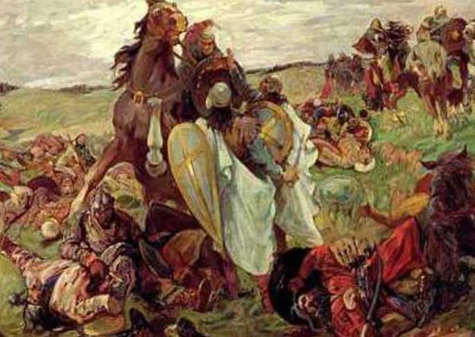 Бой с татарами