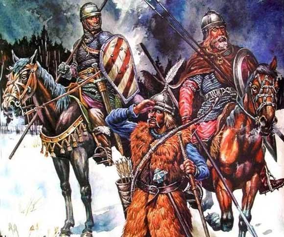 Литовские воины