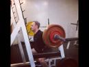 Присед на скамью 115 кг 4х3