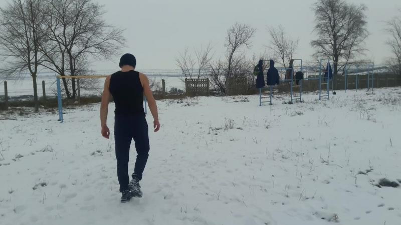Зимняя тренировачка.