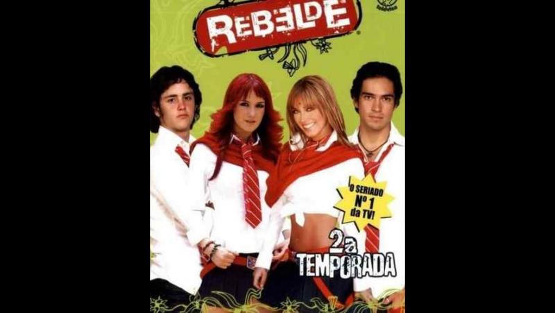 Rebelde Dulce y Cristofar and Ani y Poncho Roberta i Diego y Mia i Migel