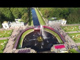 Petergof , Russia from drone