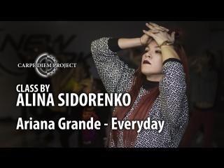 Class by ALINA SIDORENKO. Ariana Grande - Everyday. New York Studio. 27/01/18