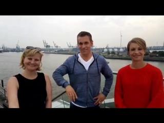 Прямой эфир с Магдаленой Нойнер на спонсорском мероприятии DAK-Gesundheit (сентябрь 2017)