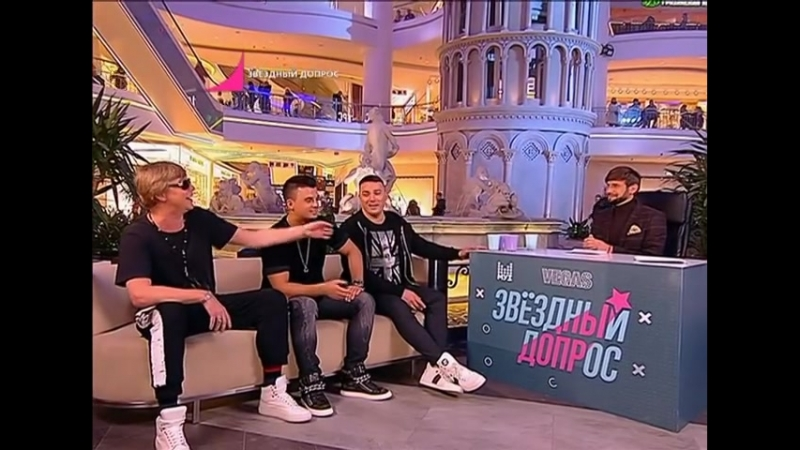 Иванушки International в передаче Звездный допрос на канале МУЗ-ТВ 21.03.2018