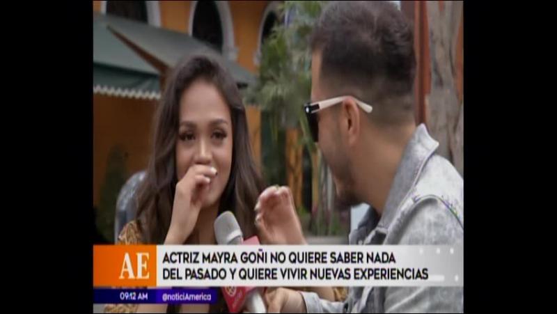 ¿Pasra algo entre Fabio Agostini y La Actriz Mayra Goñi?