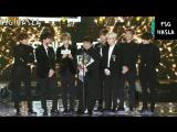 [RUS SUB] BTS reaction Bang Si Hyuk PD Win Best Producer Seoul Music Awards 2018 27th 180125