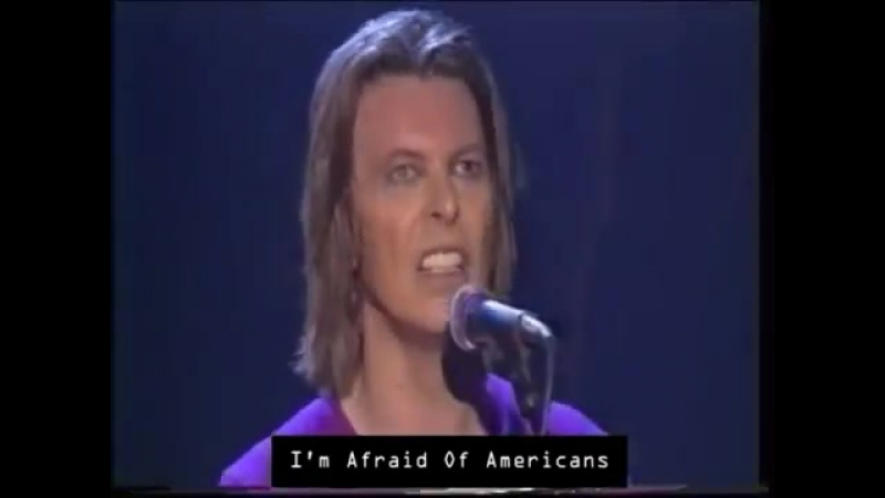 David Bowie - I´m Afraid of Americans (Live Astoria 1999) [HD] [HQ]