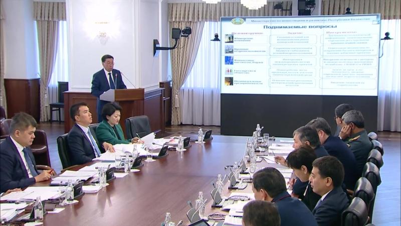О развитии законодательства о недрах (А. Айдарбаев)