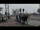 Гаага и летающий велосипедист