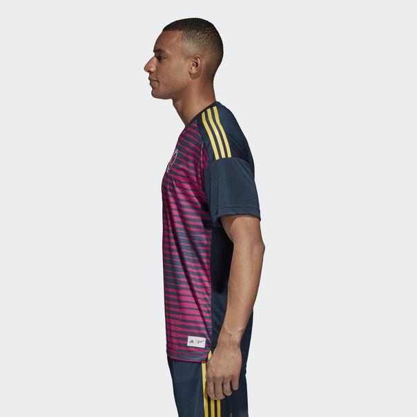 Домашняя предматчевая футболка сборной Колумбии