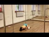 Exotic Pole Dance Combo. Daria Khudinskaia