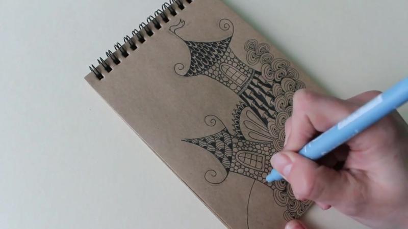 Рисуем воздушный замок