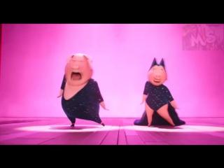 ЗВЕРОПОЙ НА РУССКОМ (ФИНАЛЬНАЯ ПЕСНЯ РОЗИТЫ И ГЮНТЕРА) SIG Song Shake It Off Rosita and Gunter FHD