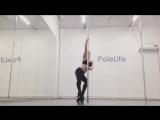 Exotic pole dance. Оксана Шайн.