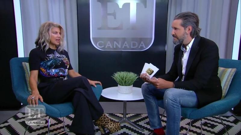 Фёрги об эмоциональных песнях с 'Double Dutchess' ET Canada